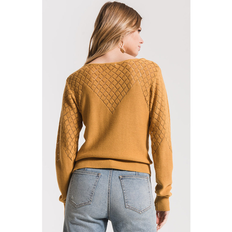 Black Swan Jade Sweater in Yellow Color