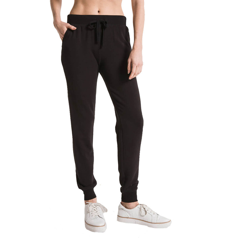 Z Supply Premium Fleece Jogger in Black Color